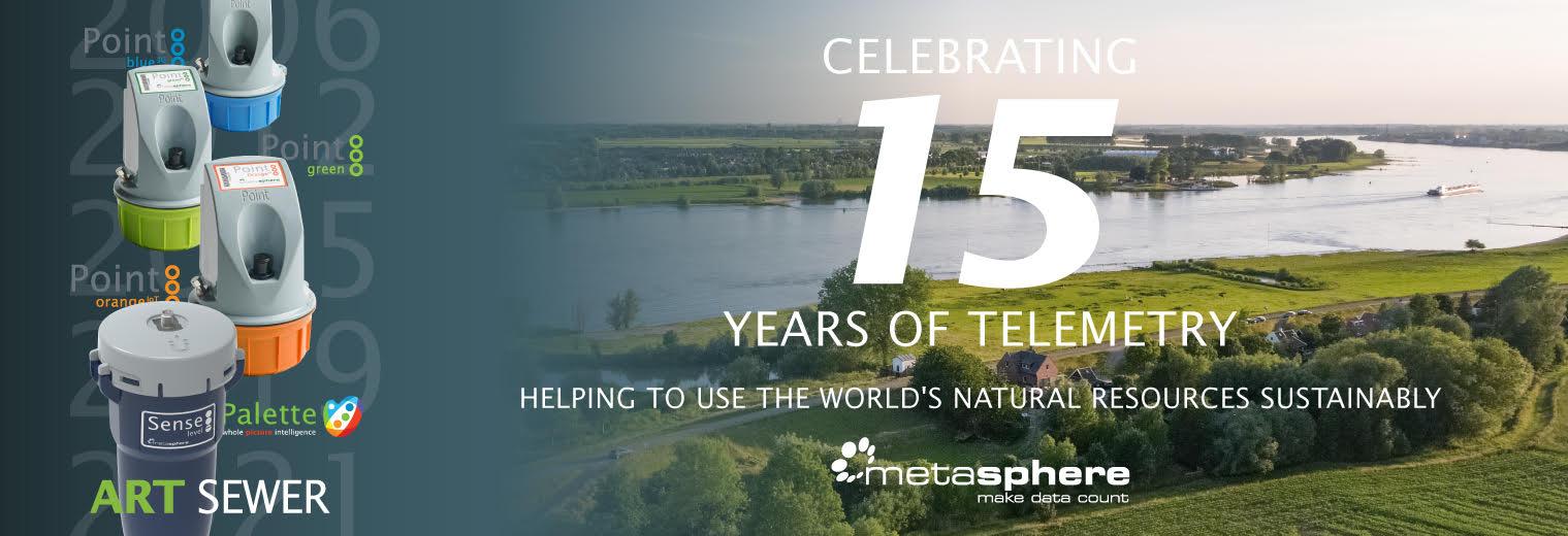 metasphere banner 15 years